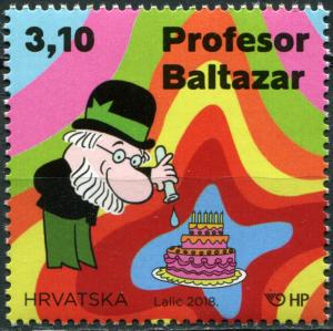 Croatia 2018. Professor Balthazar Animated Series (MNH OG) Stamp