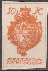 Liechtenstein #19  MNH  (K944)