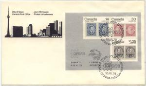 Canada - 1978 CAPEX First Day Cover #756a
