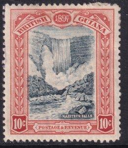 Sc# 155 British Guiana 1898 QV Queen Victoria 60th anniversary 10¢ MHH CV $30.