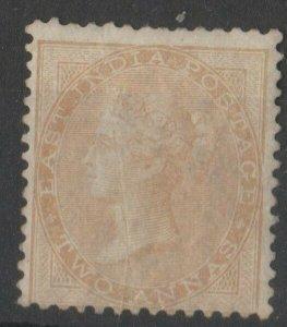 INDIA 1855 qv  2as, no wm- sg no 41 dull pink  very fine mm  cv 1200 gb +