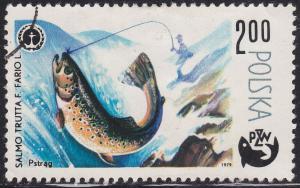 Poland 2331 Fish, Trout 2.00zł 1979