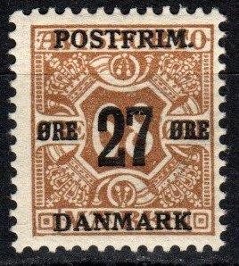 Denmark #142  F-VF Unused CV $7.50 (X5365)