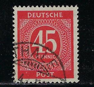 Germany AM Post Scott # 550, used