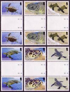 BIOT Turtles 6v Gutter Pairs SG#312-317 SC#290=295