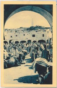 French colonies: ALGERIA -  POSTAL HISTORY - POSTCARD: Gardaja