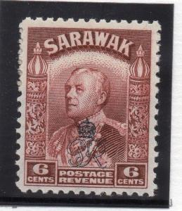 Sarawak 1947 Early Issue Fine Mint MNH 6c. Optd  029762