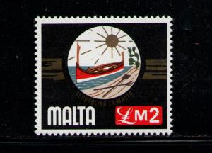 MALTA 1976 MNH SC.504 Republic Coat of Arms