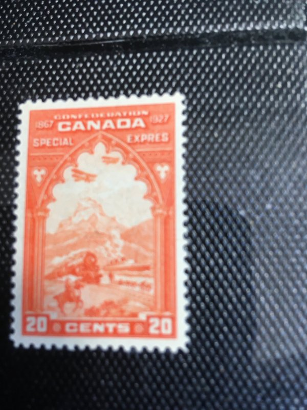Canada USC #E3 Mint VF-NH 1927 Confederation Special Delivery - Dog Sled, Etc.