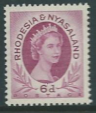 Rhodesia & Nyasaland # 147  (MNH) CV $3.00