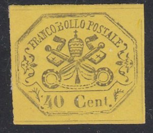 ITALY PAPAL STATES  An old forgery of a classic stamp.......................D927