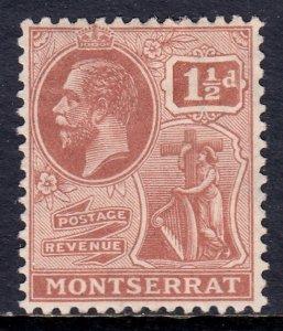 Montserrat - Scott #60 - MH - SCV $2.25