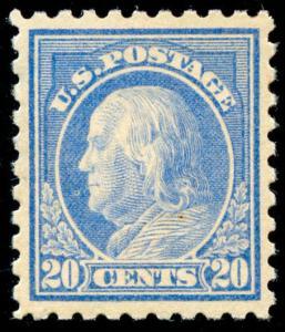 momen: US Stamps #438 Mint OG XF