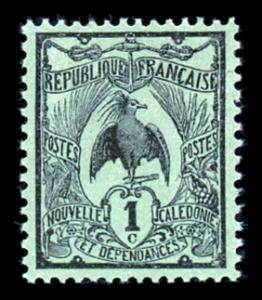 New Caledonia 88 Unused (MH)