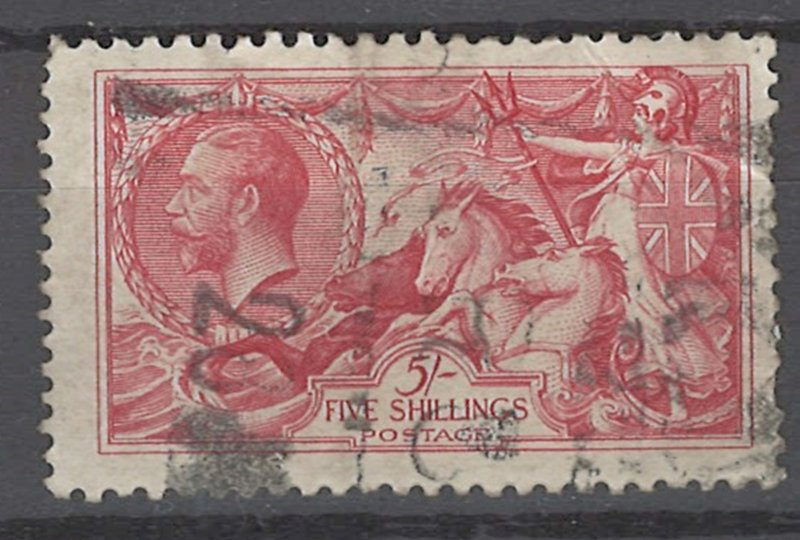 COLLECTION LOT OF # 1959 GREAT BRITAIN #174 1913 CV=$375 22mm LINED BACKGROUND