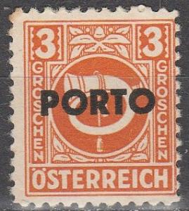 Austria #J189  MNH (K766)