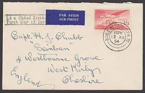 IRELAND 1954 1/3d Airmail on plain FDC.....................................27541