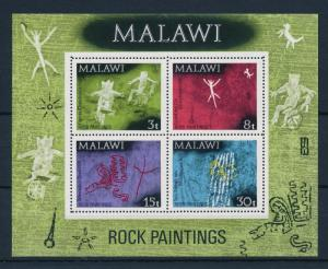 [50738] Malawi 1972 rock Paintings MNH