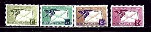 South Vietnam C11-14 MNH 1960 Air Mail set