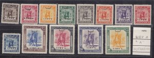 1951 Libya Issue For The Cyrenaica, N° 0.0353oz-0.5oz Knight Empire Overran MNH