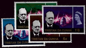 Tristan Da Cunha SC#89-92 Mint F-VF hr SCV$7.00...Bid to win!!