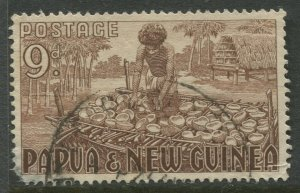 STAMP STATION PERTH Papua New Guinea #130 General Issue  Used 1952 CV$0.75