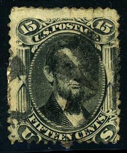 U.S. #77 Used Fine