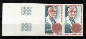 Wallis and Futuna Islands Scott C103 Mint NH imperf pair (CV 34 Euros)