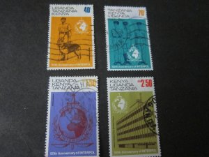 Kenya Uganda Tanganyika 1973 Sc 271-3 ,5 FU