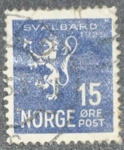DYNAMITE Stamps: Norway Scott #112 – USED