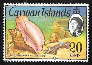 [7079] Cayman Islands # 341 Used