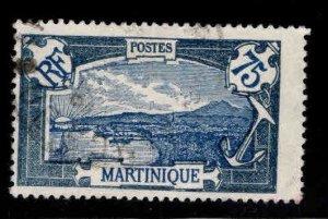 Martinique Scott 85 stamp Used