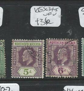 NORTHERN NIGERIA (P1907B) KE 5D-6D SG 45-5  VFU