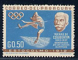 Paraguay Scott # 740, mint