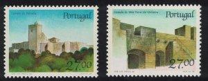 Portugal Castles 8th series 2v SG#2102-2103