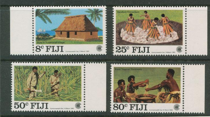 Fiji   SG 655 - 658   MUH margin copy set
