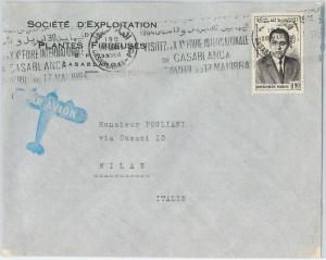 59291 -    MOROCCO - POSTAL HISTORY: COVER to ITALY - 1964