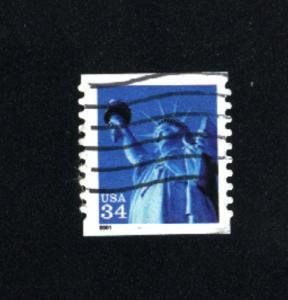 USA # 3466  4   used 2000 PD .08