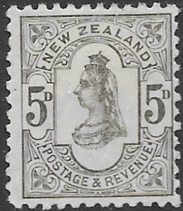 New Zealand 69  1899  5d  fine mint - hinged  ( C.P D7-a )