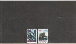 FAROE ISLANDS 293-294 MNH 2019 SCOTT CATALOGUE VALUE $2.80