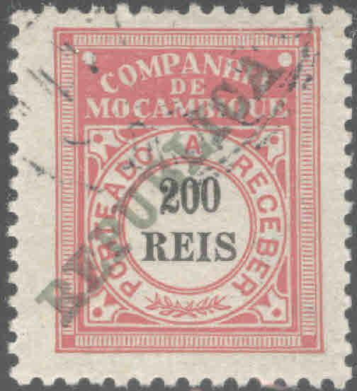 Mozambique  Company Scott J19 Used CTO Republica postage due