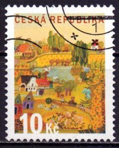 Czech Republic. 2008. 572. summer brand. USED.