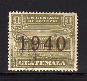 Guatemala RA14 U Post Office and Telegraph Building (B)
