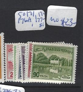 PAKISTAN  (P2412B)  SG 171, 174, 176A, 177A  MOG