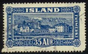 Iceland #147 Reykjavik, used (10.00)