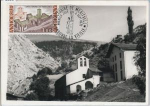 56904 - FRENCH ANDORRA - POSTAL HISTORY: MAXIMUM CARD 1976 - Architecture NOT PC