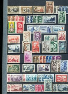 ALGERIA 1950s MH MNH Used Red X Rotary (Apprx 80 Items) NS 937