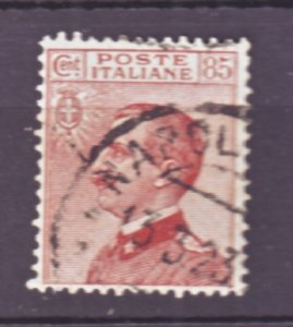 J22538 Jlstamps 1906-27 italy used #110 king