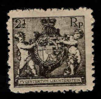 LIECHTENSTEIN Scott 55 MH* stamp