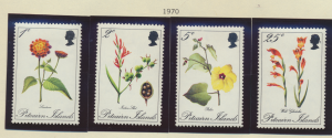 Pitcairn Islands Stamps Scott #110 To 113, Mint Lightly Hinged - Free U.S. Sh...
